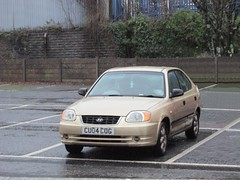 Accent. (Andrew 2.8i) Tags: classic classics carspotting spotted spotting street car cars streetspotting hatch hatchback korean gsi accent hyundai uk unitedkingdom