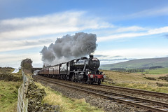 8F Finale (4486Merlin) Tags: 48151 england europe exlms lms8fbigeight northyorkshire railways steam transport unitedkingdom clapham gbr santaspecial wcrc