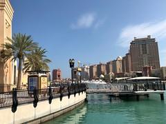 Qatar (Doha) Pearl-Qatar is an artificial island resembles a string of pearls. (ustung) Tags: pearlqatar cityview island doha qatar pearl