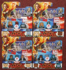 MiniMates - Walgreens Captain Marvel (Darth Ray) Tags: minimates marvel captainmarvel walgreens exclusives marvels captain bronchar starforce korath yonrogg philcoulson nickfury ronan bron char yon rogg phil coulson nick fury