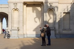 Shadow (rj.putter) Tags: ostend oostende belgium streetphotography shadow horse