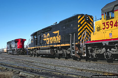 Set Out at Provo Yard (jamesbelmont) Tags: provo utah railway ge ac4400cw sd40t2 sd402 southernpacific riogrande drgw unionpacific mdvro emd