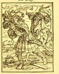 This image is taken from Page 51 of Der Todtentanz von H. Holbein, nach dem Exemplare der ersten Ausgabe im Kgl. Kupferstich-Cabinet zu Berlin in Lichtdruck nachgebildet (Medical Heritage Library, Inc.) Tags: dance death rcplondon ukmhl medicalheritagelibrary europeanlibraries date1879 idb22651263
