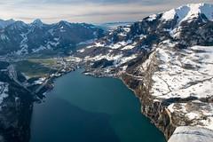 walensee (DeCo2912) Tags: piper archer walensee lake schweiz svizzera switzerland schnee snow alps alpen