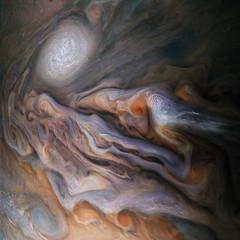 Jovian Close Encounter (NASA's Marshall Space Flight Center) Tags: nasa marshall space flight center msfc jet propulsion laboratory jpl solar system juno jupiter planets astronomy