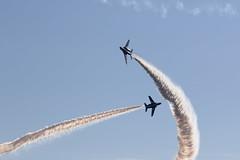 UP3A9845 (ken1_japan) Tags: 航空自衛隊浜松基地 t4 t400 t7 f4 f2 e767 f15j uh60j u125a t4多数機 航過飛行 機動飛行 ブルーインパルス e2c c2 ah1s
