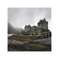Guardian (GJ Duncan Photography) Tags: scotland scottishhighlands castle eileandonan brick clouds atmosphere landscape leadinglines composition scottishcastles history visitscotland discoverscotland westofscotland nikon