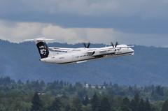 Alaska Airlines (Horizon Air) - Bombardier (De Havilland Canada) DHC-8-402Q (Dash 8 / Q400) - N448QX - Portland International Airport (PDX) - June 3, 2015 4 076 RT CRP (TVL1970) Tags: nikon nikond90 d90 nikongp1 gp1 geotagged nikkor70300mmvr 70300mmvr aviation airplane aircraft airlines airliners portlandinternationalairport portlandinternational portlandairport portland pdx kpdx n448qx alaskaairlines horizonair horizon alaskaairgroup dehavillandcanada dehavilland dhc dehavillandcanadadhc8 dehavillandcanadadash8 dehavillanddhc8 dehavillanddash8 dhc8 dash8 q400 dhc8400 dhc8402 dhc8402q bombardieraerospace bombardier bombardierdash8 bombardierq400 prattwhitney pw prattwhitneycanada pwc prattwhitneycanadapw100 prattwhitneycanadapw150 prattwhitneycanadapw150a pwcpw100 pwcpw150 pwcpw150a pw100 pw150 pw150a turboprop