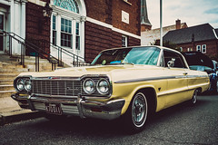 Impala (Nicholas Erwin) Tags: car classic vintage automobile chevy chevrolet impala classiccar vehicle city urban carshow autoshow motorama event northadams massachusetts ma unitedstatesofamerica usa america fujifilmxt2 fujixt2 xf23mmf2 xf23mmf2rwr fav10 fav25