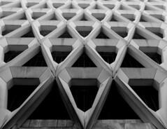 Welbeck Street (richardr) Tags: welbeckstreet carpark brutalist concrete london building architecture england english britain british greatbritain uk unitedkingdom europe european mayfair bw blackandwhite blackwhite henriettaplace