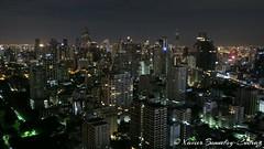 Bangkok by Night - View on the city from 35th Floor (BeyondTheHill Photography) Tags: bangrak bangkok geo:lat=1373315274 geo:lon=10056057304 geotagged sukhumvit tha thaïlande nuit skyscraper thaïlandela