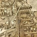 Coaling the USS Tennessee [BB-43] at Brooklyn Navy Yard ca1918 NARA165-WW-322C-002 thumbnail