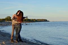 . (chamellow) Tags: ostsee urlaub strand retten sunset sonnenuntergang deutschland couple couplepicture sea meer steg inspiration herbst sommer blues