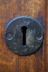 Keyhole (Michal Zawolek) Tags: krakow kraków krakau cracow poland polen historical historic keyhole key hole wood metal closeup close up