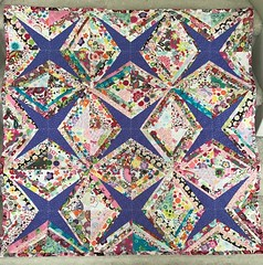 String along quilt (Thong Bartlett) Tags: quilt string along baby strips flannel fabric