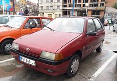 2002 Zastava Florida 1.3 Business (FromKG) Tags: zastava florida 13 business red yugo yugoslavian serbian car hatchback serbia kragujevac