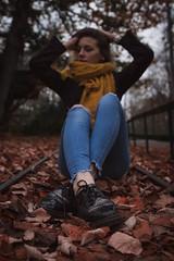 Last colors (arnaud_photograhie) Tags: canonlens composition canonphotography canon700d canon contrast color portrait automn nature women girl