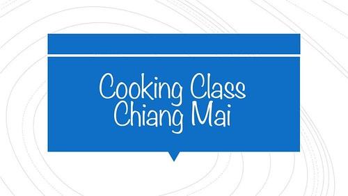Cooking Class, Chiang Mai