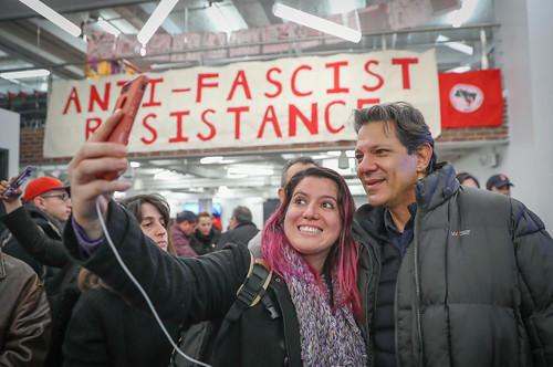 Fernando Haddad in New York City