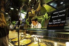 San Miguel Market, Madrid (Terrycym) Tags: spain madrid paella sanmiguelmarket europe mercadodesanmicuel flickrclickx tapas palacio food leicacameraagleicam leicasuperelmarm13421asph