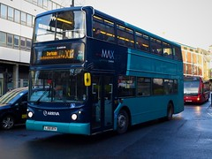 Arriva North East 7420 (LJ55BTY) - 22-12-18 (peter_b2008) Tags: arrivagroup arrivanortheast arrivadurhamcounty arrivalondon volvo b7tl alexander alx400 7420 lj55bty buses coaches transport buspictures