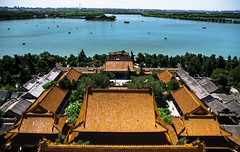 Summer Palace, Beijing, China 2018 (Mystikopoulos) Tags: china travel summer palace emprior rooftop water lake old history asia chinese pagode roof houses explore unesco