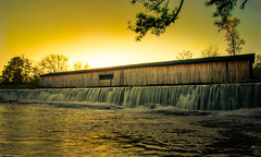WMSS-1 (brighteyespics) Tags: athensga georgia nature naturephotography photography piedmont rivershoals statepark sunset watsonmillbridgestatepark coveredbridge foothills nikon nikond5300 photographer river rocks