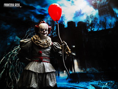 You'll Float Too... (Frontera Geek) Tags: neca it pennywise eso payaso stephen king diorama action figure georgie fotografia escala frontera geek figura de accion coleccion coleccionistas coleccionista collectibles figures terror