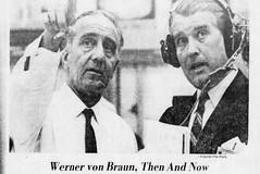 Werner / Wernher Von Braun (The Mandela Effect Database) Tags: residual evidence werner von braun presented by mandela effect database nasa nazi rocket name change mandala mandelaeffect research residue newspaperscom news newspapers german