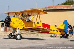 N68407 (onemoregeorge.frames) Tags: 2016 afw acro aerobatic airshow athensflyingweek boeing d40x flugzeug greece kaydet lgtg n68407 nikon pt17 st75 september stearman aereo aircraft airplane avgeek aviation avion biplane omg onemoregeorge piston planespotting
