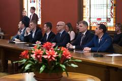 13.Saeimas komisiju pirmās sēdes (Saeima) Tags: krišjānis feldmans daniels pavļuts