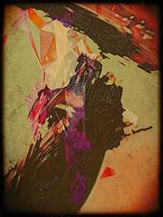 unicorn (kazimierz.pietruszewski) Tags: digipaint digitalart digitalpainting canvas border abstract abstraction pictorial pictorialism unicorn monochrome form composition tachism