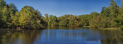 Oxbow Meadows Lake Panoramic (Thomas Vasas Photography) Tags: photography landscapephotography scenicphotography waterscapephotography panoramics travelphotography oxbowmeadows columbus georgia