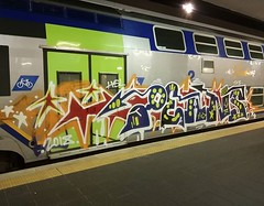 #stolenstuff #graffitiblog #check4stolen #flickr4stolen #graffititrain #vivalto #graffiti #instagraff #trainbombing #bencher #benching (stolenstuff) Tags: instagram stolenstuff graffiti graffititrain benching