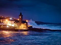 Porthleven (Timothy Gilbert) Tags: panasonic1235mmf28x bluehour porthleven storm lovecornwall m43 microfourthirds lumix microfournerds cornwall coast gx8 panasonic waves