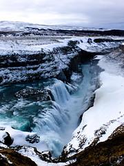 Iceland (gentle flower) Tags: iceland island wasserfall waterfall ice eis schnee snow märz march kalt cold winter weis white