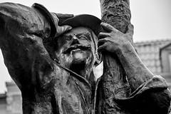 Goodbye (stefanobosia) Tags: portrait ritratto statua craiova romania fujufilm xt20 monochrome blackandwhite statue travel biancoenero viaggio