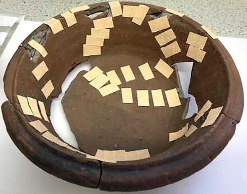 Romano-British Dropped Flanged Bowl (view 3)