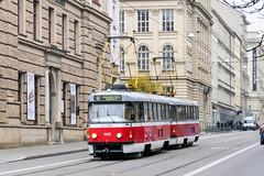 BRN_1635_201811 (Tram Photos) Tags: ckd tatra t3g brno brünn strasenbahn tram tramway tramvaj tramwaj mhd šalina dopravnípodnikměstabrna dpmb t3