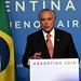 Conferencia de Prensa - Presidente de Brasil, Michel Temer