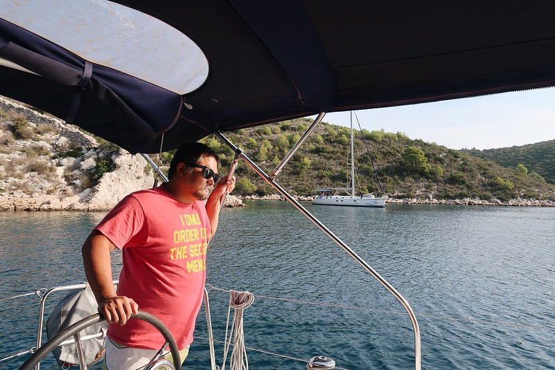 Sailing the Adriatic Sea in Croatia with Orvas Yachting