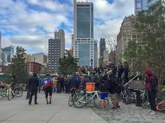Manhattan, New York (Quench Your Eyes) Tags: cranksgiving cranksgiving2018 cranksgivingnyc hinewyorkhostal hudsonyard midtownmanhattan ny bike bikeevent charityorganization fooddonation groupride manhattan newyork newyorkcity newyorkstate nyc