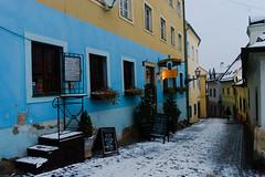 Pub street (Maximus Viridius) Tags: sony a7 bratislava mirrorless 2870mm travel europe full frame slovakia street