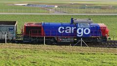 MaK 1700 SBB CFF FFS Cargo Am 843 077-9 Emmen Switzerland (roli_b) Tags: mak 1700 sbb cff ffs cargo am 843 0779 emmen switzerland schweiz suisse suiza svizzera rangierlok lok lokomitive train rail railway bahn zug 2018 mak1700 sbbcargo am8430779 8430779 rangieren
