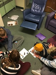 free time spent painting nails! #expressyourself (Rock Point School) Tags: expressyourself