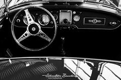 MG's interior (Seb BAUDIN) Tags: nikon d7000 noir et blanc black white monochrome morbihan bretagne brittany breizh ouest motors festival 2018 sébastien baudin