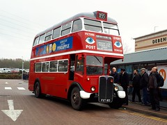 RT8 FXT183 (PD3.) Tags: ensign ensignbus purfleet essex lakeside upminster bluewater gravesend grays bus buses tilbury vintage heritage aec regent rt8 rt 8 fxt18 fxt183 fxt 183