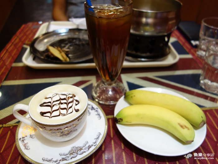 【台南美食】倫敦‧唐寧街十號|英式茶館中餐廳|英倫風咖啡館 @魚樂分享誌