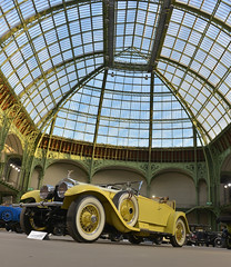 1926 Rolls Royce 40/50hp Silver Ghost roadster Playboy (pontfire) Tags: bonhams les grandes marques du monde au grand palais 2018 1926 rolls royce 4050hp silver ghost roadster playboy yellow jaune anglaise british gb rr voiture voitures cars auto autos automobile automobili automobiles coche coches carro carros wagen pontfire bil αυτοκίνητο 車 автомобиль classique ancienne vieille collection classic old antique vieux tacots anglais english britain england klassic décapotable convertible kabriolet cabriolet de maître prestige exception d luxe luxury dexception