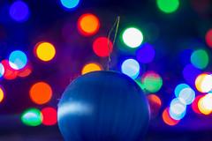 Bauble Bokeh (SKAC32) Tags: bokeh bauble canonef100mmf28macrousm fairylights macromondays christmasbokeh